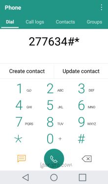 LG Aristo Hidden Menu & Other Secret / Dialer Codes - Page 2