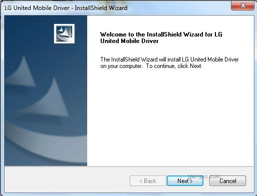 LG Aristo USB Driver Installation
