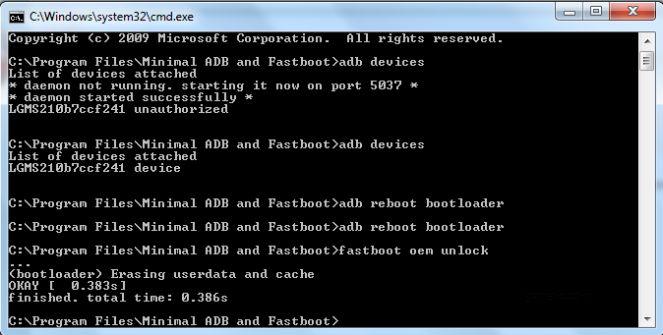 lg aristo bootloader unlocked