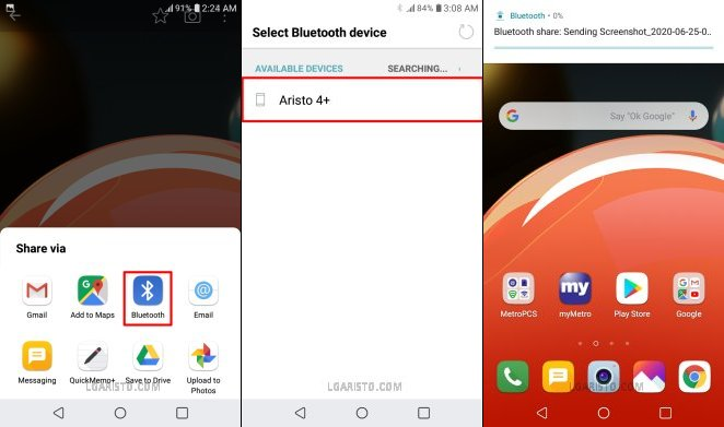 lg aristo 3 plus google bypass