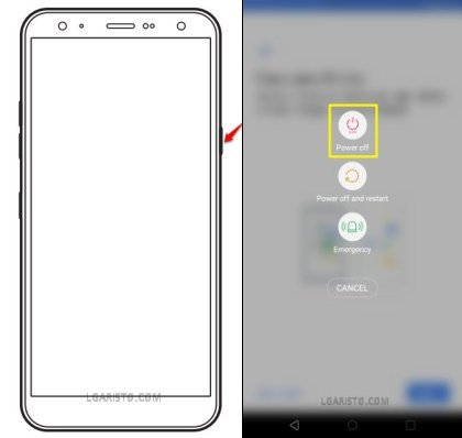 how to bypass secure startup on lg aristo 3 plus